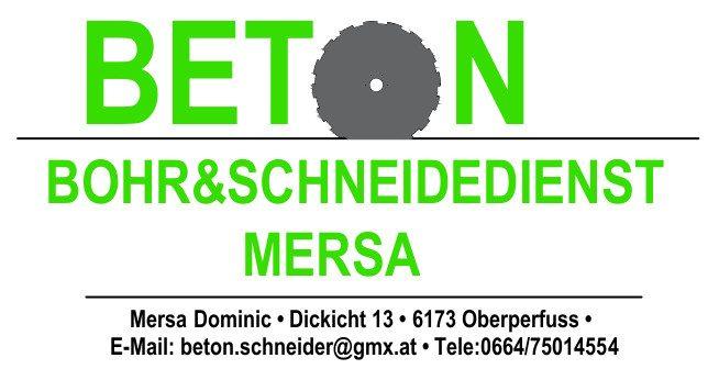 BETON Bohr und Schneidedienst Mersa